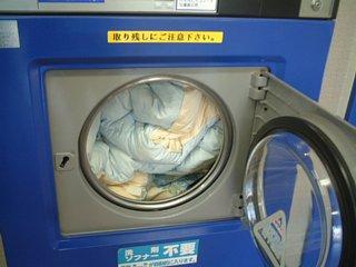羽毛布団の洗濯