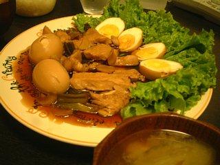 黒酢の鳥のさっぱり煮